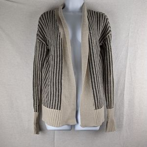 2/$20 Love by Design black and tan cardigan